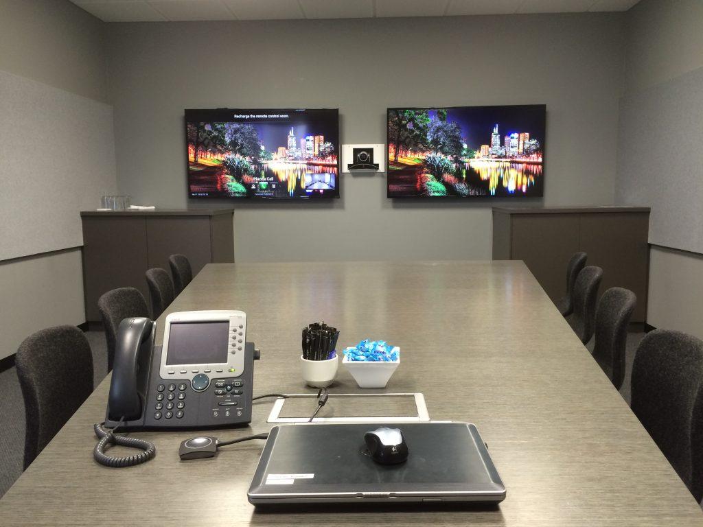 Screen Installation | Business Polycom PC Audio Visual Melbourne 2