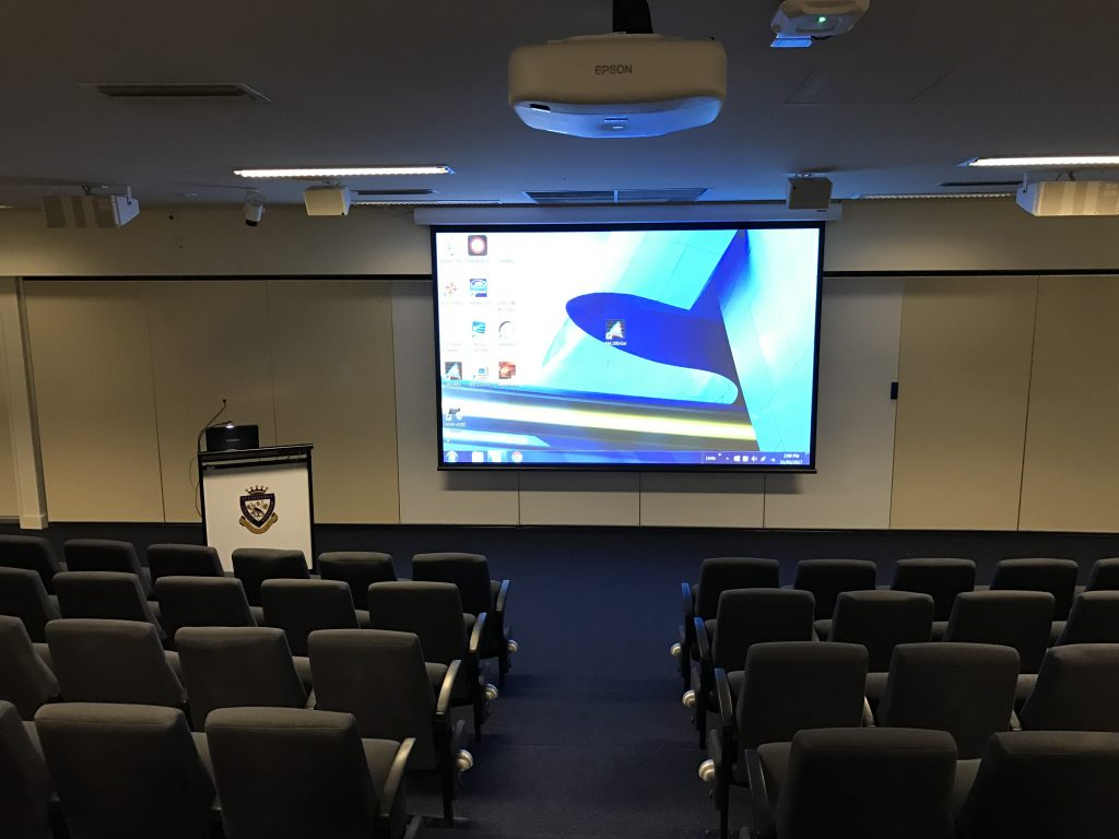 Projector Screen Control System   Lecture Theater Essendon PC Audio Visual 1