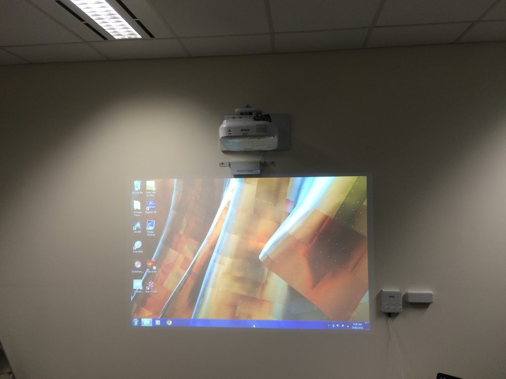 Interactive Projector Installation | Business Melbourne PC Audio Visual 1