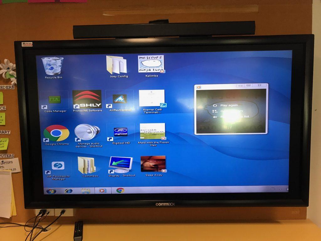 Interactive Touch Screen Installation  Education Preston PC Audio Visual Melbourne
