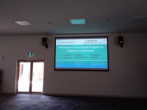 Projector Screen Installation | Recreation Essendon PC Audio Visual Melbourne