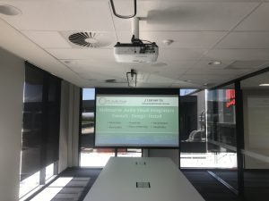 Boardroom Projector Installation | Epping PC Audio Visual Melbourne