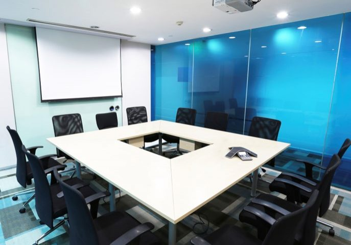 Projector Screen Installation | Meeting Room PC Audio Visual Melbourne 1