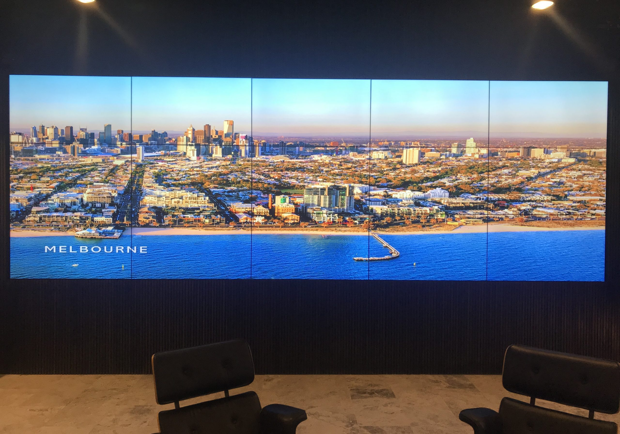 LED Screen Wall Installation | Corporate West Melbourne PC Audio Visual Melbourne