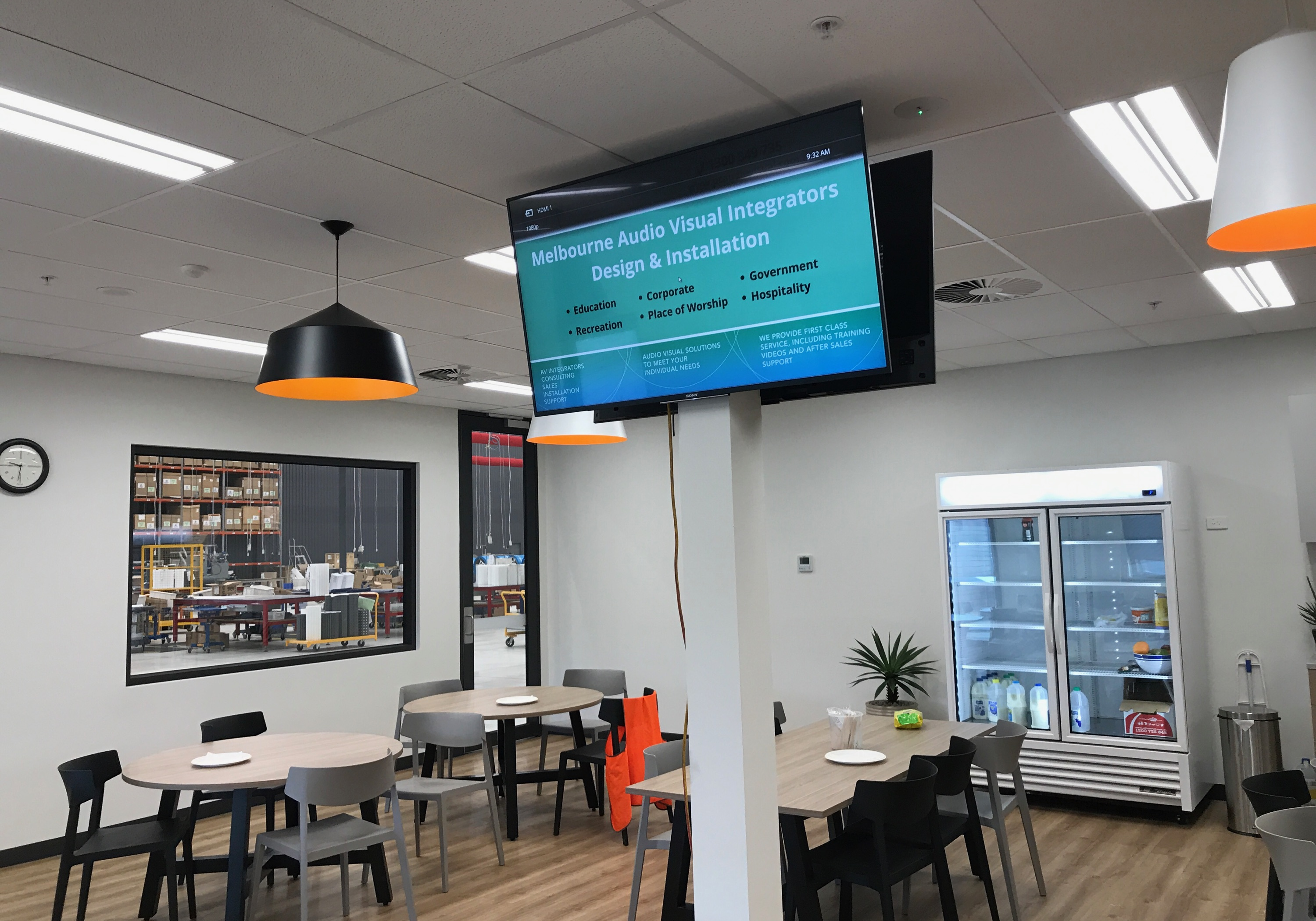 Screen Installation | Corporate Epping PC Audio Visual Melbourne