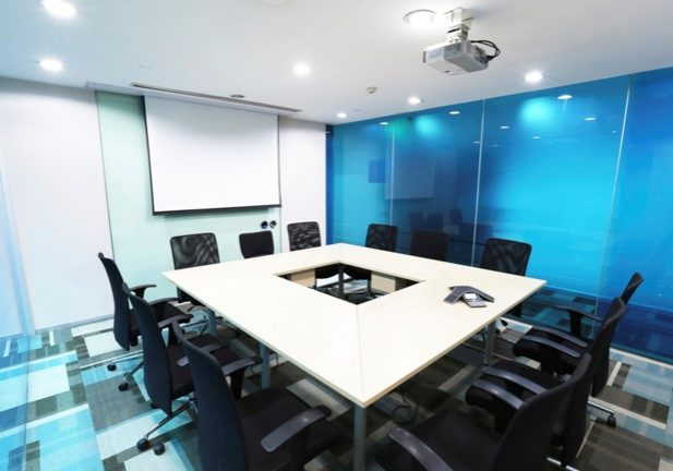Projector Screen Installation | Meeting Room PC Audio Visual Melbourne